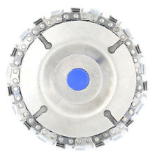22 tooth grinder chain disc wood carving disc 4 inch for 100/115mm grinder FT