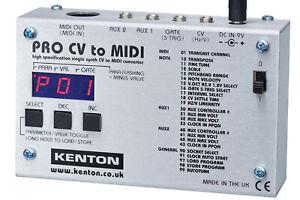 NEW Kenton Pro CV to Midi interface