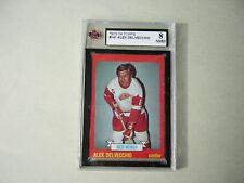 1973/74 TOPPS NHL HOCKEY CARD #141 ALEX DELVECCHIO KSA 8 NM/MT SHARP!! 73/74