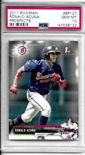 2017 Bowman Ronald Acuna-Prospects- # BP127- PSA 10