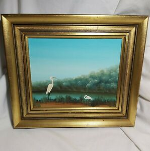 Framed Sue Nagel(1942--) original oil painting L29cm *W34cm signed low right