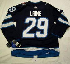 PATRIK LAINE size 52 = size Large - Winnipeg Jets home ADIDAS NHL Hockey Jersey