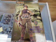 """BBI Elite Force 12"""" action figure """" LT Chuck Hayes"""" US 1st Infantry"""