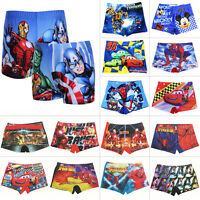 Boys Spiderman Swimming Trunks Swim Shorts Character Age 2 3 4 5 6 7 9 10 Years