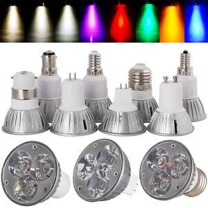 E27/E14/E12/GU10/MR16/GU5.3/B15 Dimmable 6W LED Spot Light Bulbs Epistar Lamp SA