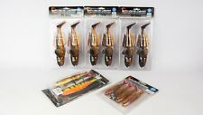 LARGE COLLECTION SAVAGE GEAR ASSORTED SOFT LURES