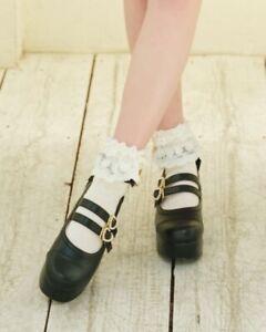 LIZ LISA - Back Ribbon Strap Shoes (japan kawaii lolita harajuku)
