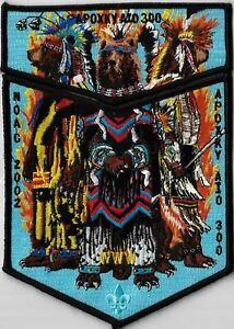 OA Apoxky Aio Lodge 300 2002 NOAC Flap Set BLK Bdr. Montana [MX-7729]