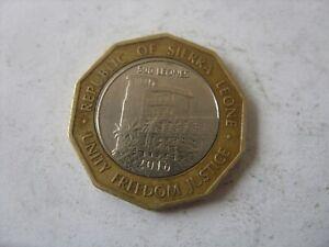 500 LEONES 2016  SIERRA LEONE