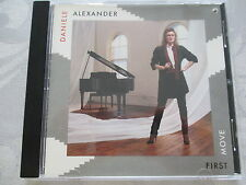 Daniele Alexander - First Move - Mercury CD full silver made in USA by PDO