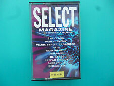 "VARIOUS ARTISTS   "" SELECT MAGAZINE - GENEROUSLY PRESENTS  ""  CASSETTE ( 1991 )"