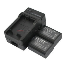 Charger +2x 1080mAh Battery for Sony NP-FW50 Alpha A3000 A3500 A5000 A6500 A6000