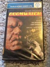 Doomwatch - Guild Big Box  Signed Pre cert VHS