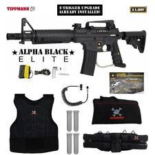 Tippmann US Army Alpha Elite Tactical E-Grip Sergeant Paintball Gun Package
