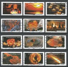 "˳˳ ҉ ˳˳FR54 France """"Things on Fire"" "" 2012  complete set 12 used"