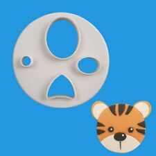 Cute Animal Face Fondant Mold Plastic Cookie Cutter DIY Cake Baking Pastry Tool