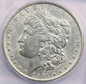 1901-P 1901 Morgan Silver Dollar ICG AU58