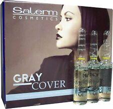 Salerm Technique Gray Cover (0.17 Fl. Oz. x 12 Vials)(For resistant gray coverin