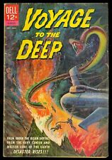 Dell Voyage to the Deep 1 Silver Age GD