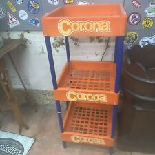 More details for rare vintage retro corona soft drinks cola shop retail advertising bottle stand.