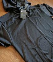 Nike Performance Dri-FIT Shimmer Kapuzenjacke Damen Schwarz Hoodie 929832-010