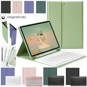 For iPad Pro 11 inch 2020 Slim Keyboard Smart Case Cover with Pencil Holder