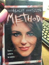 Method [VHS] Elizabeth Hurley Jeremy Sisto thriller serial kiler movie film VHS