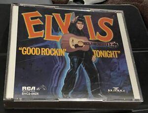 "👽 RARE 1991 ELVIS PRESLEY CD ""GOOD ROCKIN' TONIGHT"" 👽"