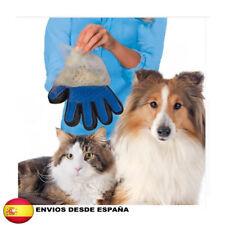 Guante cepillo peine quita pelos para mascotas perro gato (mano izquierda)