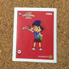Adventure Collectable Trading Cards with Stickers