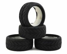 Team Associated TC Tires w/Inserts (4) - ASC2405