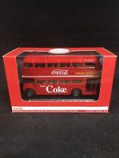 1/64 Scale Diecast Routemaster Double Decker Bus London Transport Coca Cola B1