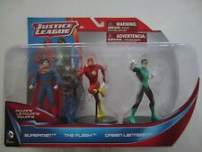 Justice League 3 pack Figurine (Superman/The Flash/Green Lantern) NIB