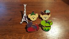 5 Piece Peter Pan Themed Disney Trading Pin Lot