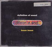 Definition Of Sound-Boom Boom cd maxi single