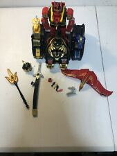 Power Rangers Thunder Megazord Almost Complete Please Read Description.