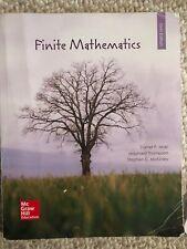 Finite Mathematics , Sixth Edition