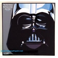 Darth Vader PopArt Canvas Acrylic Surface Print Deco - Brand new
