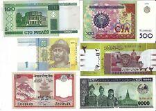 6 kassenfrische Geldscheine
