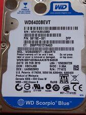 Western Digital WD 6400 bevt - 60a0rt0 | hbcvjbb | 23 feb 2010 | 640gb #24