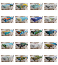 Ambesonne Travel Adventure Tablecloth Table Cover for Dining Room Kitchen