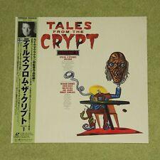 TALES FROM THE CRYPT Volume 1 - RARE 1995 JAPAN LASERDISC + OBI (MGLC-94062)