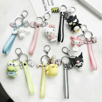 Cute 3D Cartoon Animal Keyring Lady Purse Charm Key Ring Chain Keychain Gifts