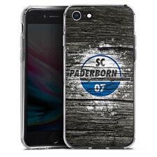 Apple iPhone 8 Silikon Hülle Case - SC Paderborn Holz