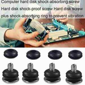4x Hard Drive Bracket Screw and Rubber Ring HDD bracket screw