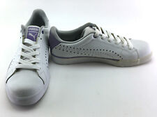 Puma Shoes Game Point White/Purple Sneakers Size 9.5