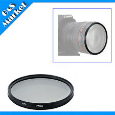 77mm CPL Polarizing Lens Filter for Canon Nikon Sony Pentax Sigma Olympus