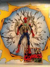 "Marvel ANIMATED SPIDERMAN Spidey Armor 6"" AVENGERS XMEN LEGENDS AMAZING MOVIE"
