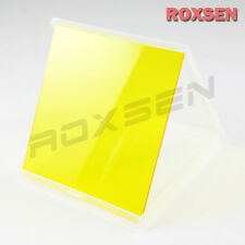 Solid YELLOW Conversion SQUARE Color Filter Card for Cokin P series