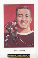 F.X. MOOSE GOHEEN Canada Hockey HALL OF FAME POSTCARD